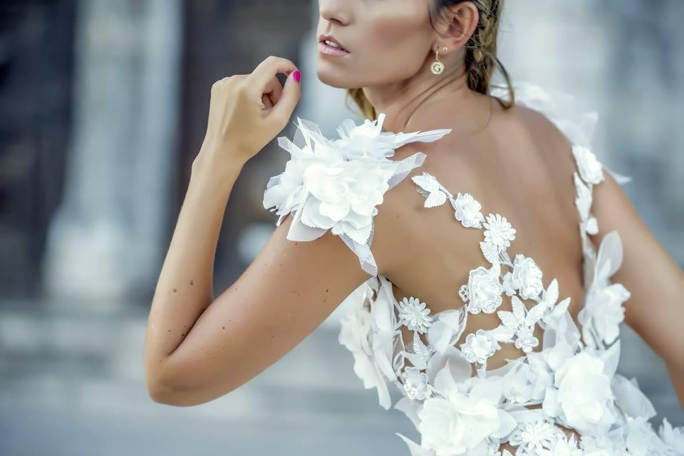 Colecção: Dreamland Bridal Collection 2017 | Designer: Natália Mil-Homens Pereira | Modelo: Lia Rodrigues | Fotografia: Onésimo Costa